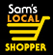 Logo for Sam's Local Shopper village store